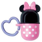 日本 迪士尼 Disney 米妮小饅頭零食收納盒