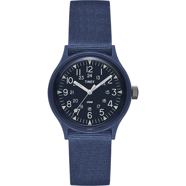 【TIMEX】天美時 MK1 輕量潮流軍錶(藍 TXTW2R13900)