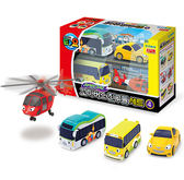 《 TAYO 小巴士 》快速工具車4件組╭★ JOYBUS 玩具百貨