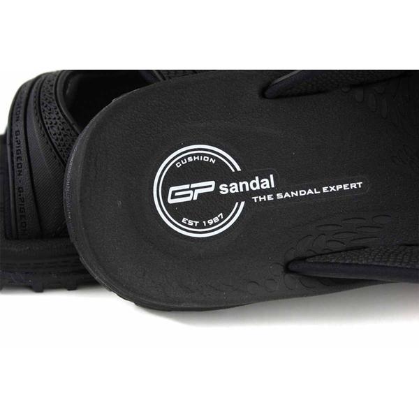 G.P 阿亮代言 拖鞋式涼鞋 雨天 黑色 男鞋 G0560-10 no379