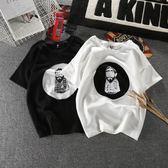 情侶裝半袖2018新款潮T恤韓版寬松學生原宿bf風夏季短袖