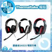 Thermaltake 曜越 Tt eSPORTS 震撼者SHOCK 電競耳機 (黑/白/紅)(HT-SHK002EC)