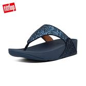 SS20早春【FitFlop】LULU GLITTER TOE-THONGS 經典亮片夾腳涼鞋-女(午夜藍)