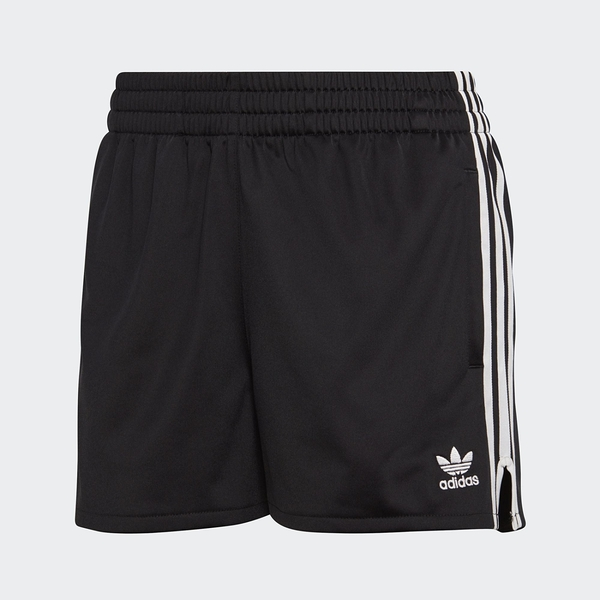 Adidas Originals 三葉草 刺繡 愛迪達 三線 黑白 運動 短褲 CY4763
