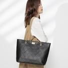 單肩包包包女大容量2020新款潮韓版簡約百搭高級感手提單肩大包包托特包 小山好物
