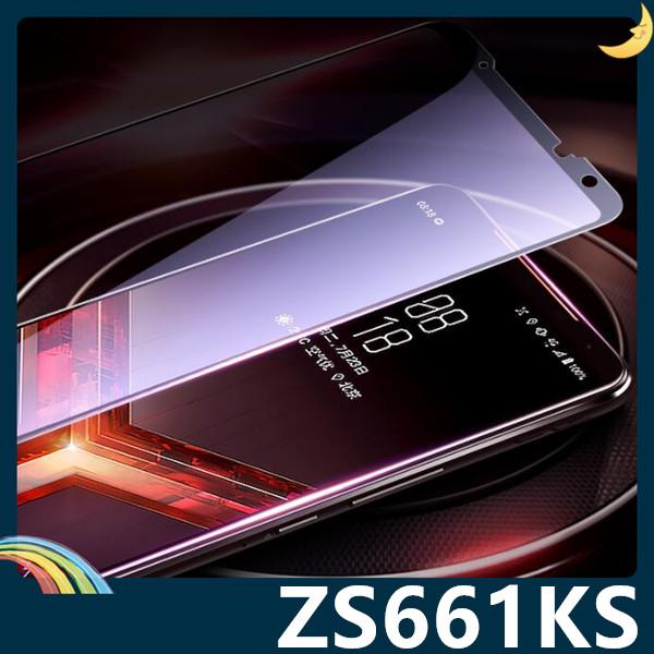 ASUS ROG Phone 3 ZS661KS 全屏弧面滿版鋼化膜 3D曲面玻璃貼 高清原色 防刮耐磨 防爆抗汙 螢幕保護貼
