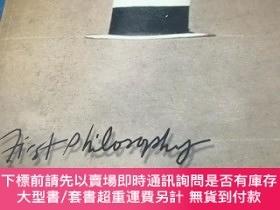 二手書博民逛書店FIRST罕見PHILOSOPHY FUNDAMENTAL PROBLEMS AND READINGS IN PH