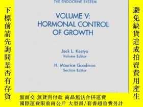 二手書博民逛書店Handbook罕見Of Physiology: Section 7: The Endocrine System