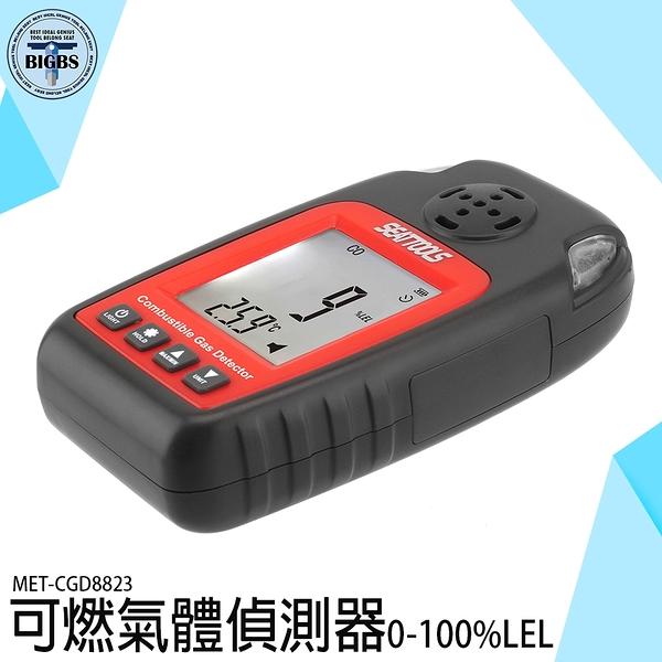 《利器五金》可燃氣體偵測器 便攜式氣體偵測儀 靈敏傳感器 MET-CGD8823 天然甲烷報警儀 氣體偵測