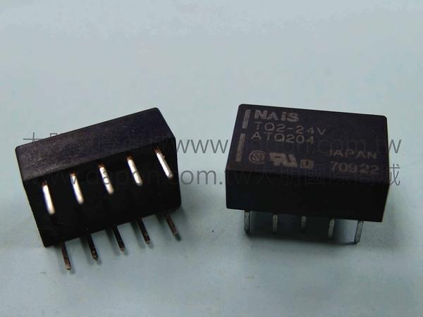 *大朋電子商城*NAIS TQ2-24V 繼電器Relay(5入)