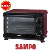 SAMPO 聲寶 KZ-PV18 電烤箱 18L 100~250℃ 定溫控制 3段火力 公司貨 KZ-PV18