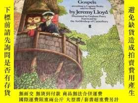 二手書博民逛書店The罕見Woodland Gospels (according