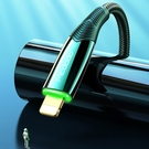 Mcdodo PD/Lightning/Type-C/iPhone智能斷電充電線傳輸線編織快充線 LED 呼吸燈 戰皇系列 180cm 麥多多