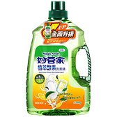 妙管家濃縮洗潔精(清新檸檬香)3200ml【愛買】
