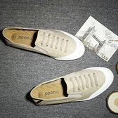 透氣休閒鞋子 男懶人鞋一腳蹬【非凡上品】nx1027