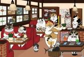 【拼圖總動員 PUZZLE STORY】午茶時光  / 不可思議的貓世界 / KORIRI / 300P