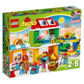 樂高積木LEGO 得寶系列 10836 市鎮廣場