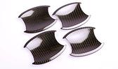 【車王汽車精品百貨】本田 HONDA CRV 3代 3.5代 門碗貼 碳纖維紋 外門碗 門碗保護貼