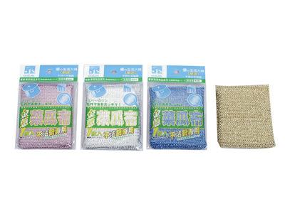 【好市吉居家生活】生活大師  UdiLife K201-3 金蔥海棉菜瓜布(3入)