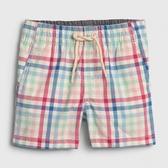 Gap男嬰輕盈舒適鬆緊腰休閒褲542872-多色格紋