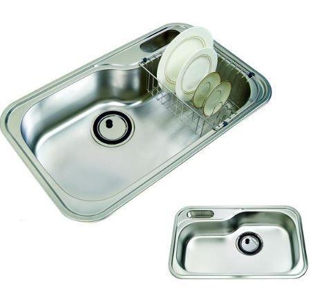 歐雅系統家具 系統櫥櫃 系統展示櫃【RGX-JIS 840P進口水槽】優惠價格 7560