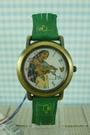【震撼精品百貨】Disney 迪士尼 Pocahontas_風中奇緣~手錶-圓形錶面-綠色錶帶【共1款】