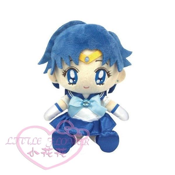 ♥小花花日本精品♥Sailor Mercury美少女戰士月光仙子-水星水野亞美造型可愛玩偶布偶娃娃50134601