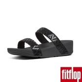 FitFlop】LOTTIE CHEVRON-SUEDE SLIDES(黑色)