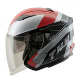 THH T560S 飆風 3/4罩安全帽 內墨鏡 (多種顏色) (多種尺寸)