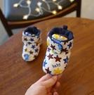 兒童鞋 冬季加厚保暖鞋3-6-10個月寶寶學步前加絨布棉鞋【快速出貨八折下殺】