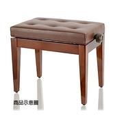 【非凡樂器】台製鋼琴升降椅/咖啡/ 微調式 可依照身高調整琴椅高度