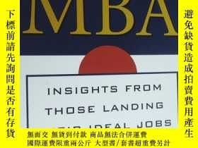 二手書博民逛書店Finding罕見Your Way With An MBA:Insights From Those Landing