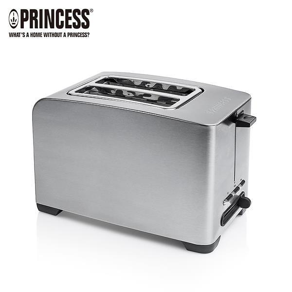 【南紡購物中心】荷蘭公主 PRINCESS 不鏽鋼烤麵包機 142356