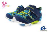 Moonstar 月星 MSCN 日本機能鞋 小童 寶寶涼鞋 運動鞋 護趾涼鞋 I9660#藍色◆OSOME奧森鞋業