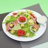 【協貿國際】仿真食品麵包丁蔬菜沙拉模型西餐假菜餚樣品