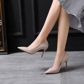 尖頭鞋子 細跟夜店性感淺口高跟鞋《小師妹》sm419