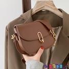 小方包 高級鍊條小方包洋氣女包2021新款潮網紅時尚馬鞍包百搭側背斜背包寶貝計畫 上新