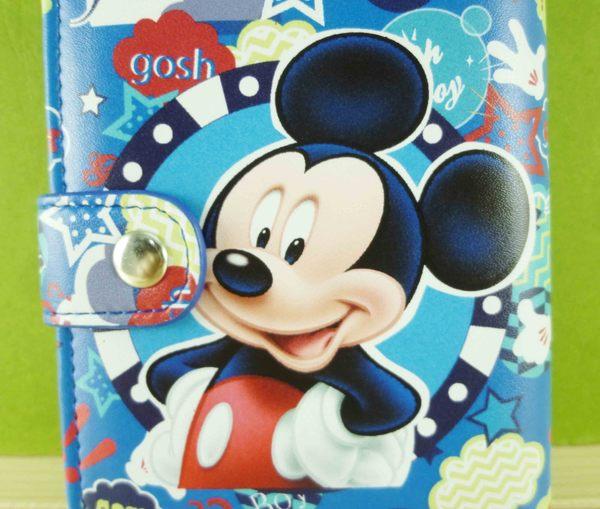 【震撼精品百貨】Micky Mouse_米奇/米妮 ~二折夾-藍米奇