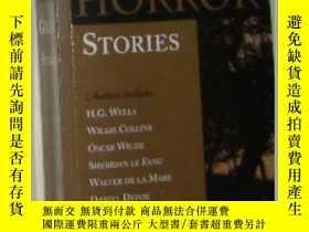 二手書博民逛書店【罕見】 原版英文小說 《 Great Horror Stori