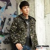 Big Train 迷彩全棉外套-軍綠-B3020246(領劵再折)