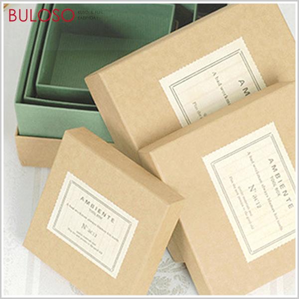 《不囉唆》TOOLBOX-F正方牛皮紙盒包裝(大+中+小) 禮物盒/交換/包材(不挑色/款)【DYP000004】