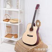 初學者吉他男女學生練習民謠古典吉他38寸木吉它新手入門通用樂器PH1316【3C環球位數館】