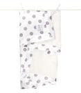 【美國 Little Giraffe】嬰兒被 頂級攜帶毯 - 豪華彩色奶油點點嬰兒毯(薰衣草款)  LXSNDBKTLV