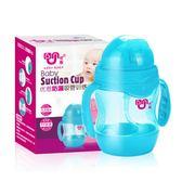寶寶水杯兒童吸管杯帶手柄重力球幼兒園學飲杯防摔嬰兒喝水杯水壺
