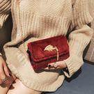 冬季上新女包小包包韓版可愛毛毛單肩包百搭流蘇鏈條斜背潮包 檸檬衣舍