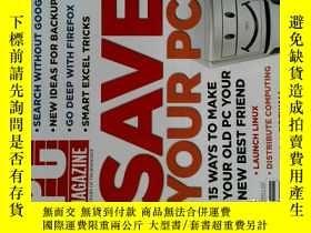 二手書博民逛書店PC罕見Magazine 2007年9月 英文個人電腦雜誌 可用樣板間道具雜誌Y14610