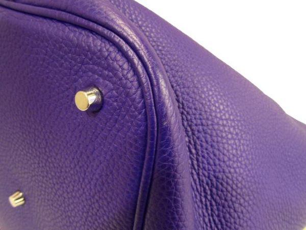【特價11%OFF】HERMES 愛馬仕 海葵紫 Picotin Lock GM 手提肩背水桶包【BRAND OFF】