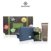 BVLGARI 寶格麗 城市森林男性淡香精禮盒 (100ml淡香精+100ml鬍後乳)《BEAULY倍莉》