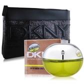 DKNY 青蘋果淡香精 (100ml)+經典化妝包-香水公司貨