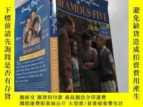 二手書博民逛書店the罕見famous five : 著名的五個.:Y200392